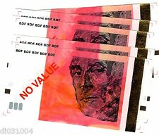 LOT 5 Billets TEST NOTE ECHANTILLON BANQUE DE FRANCE 10 EURO € RAVEL ROUGE