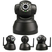 IP Kamera P2P Camera CAM LED Wifi Netzwerkkamera IR Nachtsicht Audio Indoor