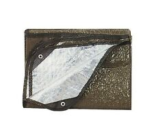 Aluminized Insulated Olive Drab Survival Blanket US Army USMC Camping Tactical