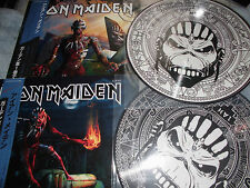 IRON MAIDEN 2 LP VOL 1 + 2 BEAST IN THE GARDEN N.Y USA 2016 PICTURE DISC PDK 250