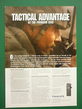 2007-8 PUB THALES COMMUNICATIONS AN/PRC-148 JEM HANDHELD TACTICAL RADIO AD