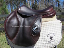 "17.5"" CWD 2GS French close contact jumping saddle 3C -2014 MODEL! MINT CONDITION"