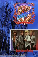 Dokken Original 1987 Back From the Attack Promo Poster