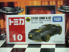 TOMICA #10 LOTUS EXIGE R-GT 1/59 SCALE NEW IN BOX