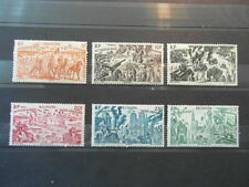 timbres stamps LA REUNION ISLAND : POSTE AERIENNE 1946  yt 36/41 complete