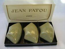 CALINE JEAN PATOU Paris OUTLET 3 SAVON PARFUME 103 gr each RARE VINTAGE