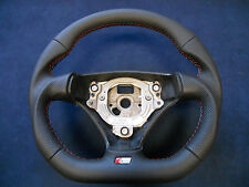 SMALL 370mm! Steering Wheel AUDI A3 8P0 A4 B6 A6 C5 TT S-LINE Flat Bottom