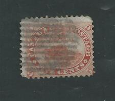 CANADA # 15 Used 5 Cent Red BEAVER (0031)