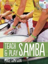 Teach Play Samba Carnival Music Samba Reggae Paul Simon Jazz Book & DVD
