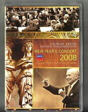 NEW YEAR'S CONCERT 2008: Wiener Philharmoniker (Pretre) (2008, DVD) Booklet