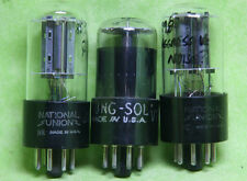 (3) 12SL7GT / VT-289 Tubes, Tung-Sol (1), National Union (2), Results Vary!
