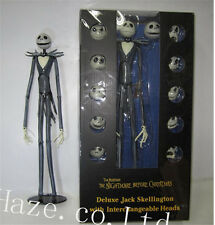 The Nightmare Before Christmas Jack Skellington 38cm Figure 12 Skull Heads Toys