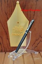 FOUNTAIN PEN BLACK JINHAO 301 CLASSIC STYLE  FINE 18KGP NIB  UK STOCK x 1