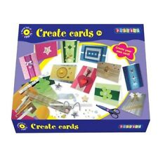 Make Your Own Cards Craft Set - Playbox Card Art And Crafts Creativity Children