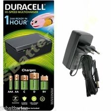 Duracell Fast 1 Hour Universal Battery Charger for  AAA AA C D & 9V EU PLUG