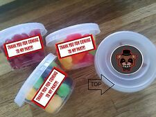 12ct FNAF FIVE NIGHTS AT FREDDY'S favor cups, CUSTOM birthday party favors