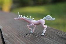 Glass Unicorn Micro Figurine Unicorn Figurine Glass miniature glass Unicorn
