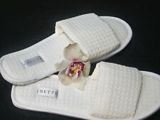 FRETTE Hotel Collezioni Open-Toe Waffle Slippers, Size 10-12, Lot of 12 Pairs