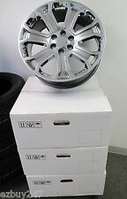 "22"" NEW GMC YUKON SIERRA CHEVY SILVERADO SUBURBAN GRAY CHROME WHEELS RIMS 5660"