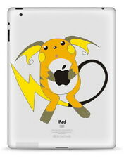 Pokemon Raichu Apple iPad 1/2/3/4 Sticker