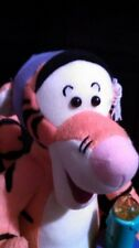 """Bed Time Tigger Plush with Light Up Candlestick 10"""" tall-Disney Winnie The Pooh"""