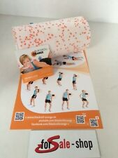 Blackroll orange MED 30 cm Massagerolle  Übungs DVD  Übungs Poster NEU