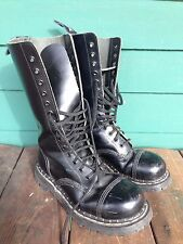 Grip Fast Boots 14 Eyelet Steel Toe Leather Lace up Boots UK Sz 5