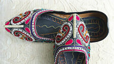 BLACK LADIES INDIAN WEDDING PARTY KHUSSA SHOE SIZE 6