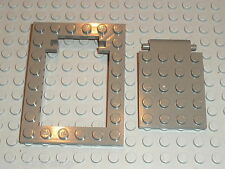 LEGO OldDkGray Trap door frame 30041 30042 / set 4733 7419 1381 5986 4706 7418