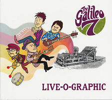 THE GALILEO 7 Live-O-Graphic CD NEW Prisoners Embrooks garage psych power pop