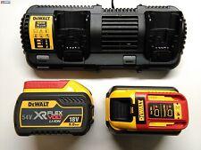 DeWALT DCB132X2 FlexVolt 54V 9,0Ah Akkupacks DCB547 Doppel-Ladegerät DCB132