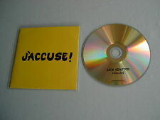 JACK ADAPTOR J'Accuse promo CD album