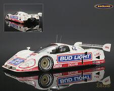 Jaguar XJR-12 Bud Light Jaguar 24H Daytona 1993 Goodyear/Pruett/J. AutoBarn 1:18