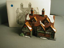 DEPT 56 HERITAGE DICKEN'S VILLAGE - ASHBURY INN 1991 - #55557 - 160 x mc