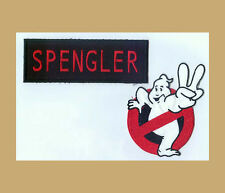 Ghostbusters 2 Arm Patch & Spengler Name tag set