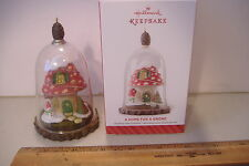 ~A HOME FOR A GNOME~2014 HALLMARK ORNAMENT~
