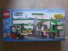 New Lego City 7733 Airport Cargo Truck Forklift Great Christmas Gift Sealed Box