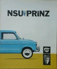 NSU Prinz 583cc US Sales Brochure -