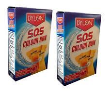 Colore Dylon SOS eseguire Remover restituiscono colore viene eseguito (2 CONFEZIONI)