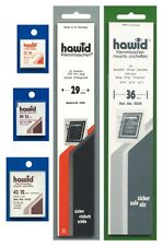 Assortiment de 50 bandes hawid simple soudure, fond noir.