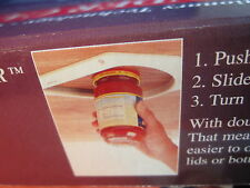 """ WONDER"" Under Cabinet / Shelf Jar Lid Opener-GREAT GIFT FOR ALL OCCASIONS!"
