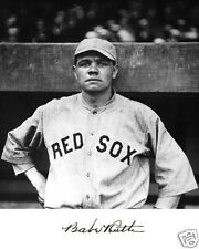 Babe Ruth pre Yankees Red Sox Autograph 8 x 10 Photo Picture # b1