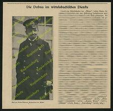 Graf zu Dohna-Schlodien SMS Möwe Adel Kaiserliche Marine Wittelsbach Bayern 1916