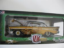 `57 Chevrolet Bel Air Hardtop TOM KELLY Custom 1957 *** M2 Machines 1:24 OVP