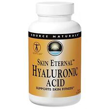 Skin Eternal Hyaluronic Acid -120 -50mg Tablets by Source Naturals - Anti-Ageing