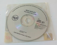 Rick Astley The ones you. Rare  Promo. 1 track. CD SINGLE.