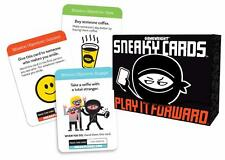 Sneaky Cards Card Game Play It Forward by Gamewright GWI 351