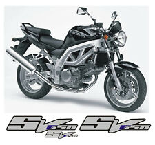 Suzuki SV 650 K3 Argento/Blu parziale - adesivi/adhesives/stickers/decal