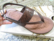 NEW BORN B.O.C REAGAN BROWN SANDALS WOMENS 10 STRAPPY  FREE SHIP