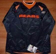 Chicago Bears Jersey Jacket Pullover Adult Small NFL Reebok